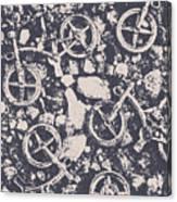 Rocky Mountain Bike Trail Canvas Print