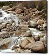 Rocky Mountain Cascade Canvas Print