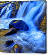 Rocky Mountain Cascade Canvas Print
