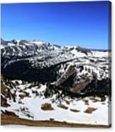 Rocky Mountain National Park Pano 2 Canvas Print
