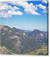Rocky Mountain National Park Panoramic Canvas Print