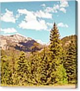 Rocky Mountain Panorama Canvas Print