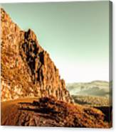 Rocky Mountain Route Canvas Print