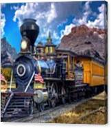 Rocky Mountain Train Canvas Print