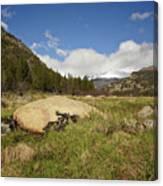 Rocky Mountain Valley Canvas Print