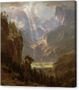 Rocky Mountains, Lander's Peak Canvas Print