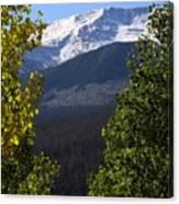Rocky Mountains Mtn M 207 Canvas Print