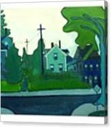 Rocky Neck Art Colony East Gloucester Ma Canvas Print