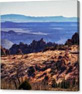 Rocky View Canvas Print