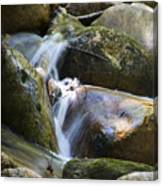 Rocky Water Closeup Canvas Print