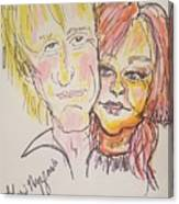 Rod Stewart And Cyndi Lauper Tour 2017 Canvas Print