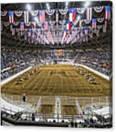 Rodeo Time In Texas Canvas Print