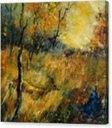 Roe Deer Canvas Print