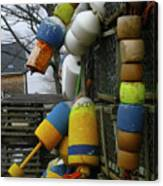 Roger's Buoys Canvas Print