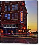 Roger's Hotel Canvas Print