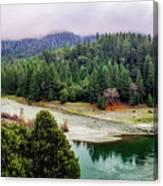 Rogue River Bend Pano Canvas Print