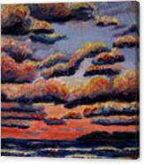 Roiling Skies Canvas Print