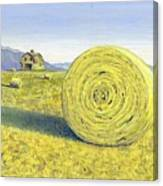 Roll Away The Dew Canvas Print