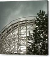Roller Coaster 4 Canvas Print
