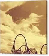 Roller Coaster Rides Canvas Print
