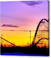 Rollercoaster Of Life Canvas Print