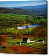 Rolling Countryside Canvas Print
