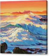 Rolling Ocean Surf - Plein Air Canvas Print