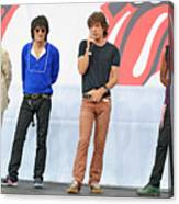 Rolling Stones In Nyc Canvas Print