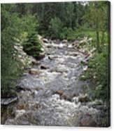 Rollingstone River Canvas Print