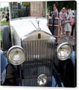 Rolls Royce Ice Cream Car  Canvas Print