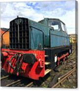 Rolls Royce Sentinel Dl83 Diesel Shunter At The Nene Valley Railway Canvas Print