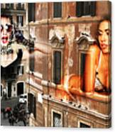 Roma Beauty Canvas Print