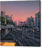 Roma Station Canvas Print
