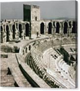Roman Amphitheatre, Arles Canvas Print