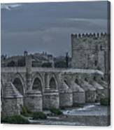 Roman Bridge In Cordoba II Canvas Print