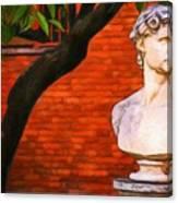 Roman Bust, Loyola University Chicago Canvas Print
