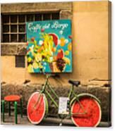 Roman Cafe' Canvas Print