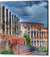 Roman Colosseum Canvas Print