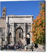 Roman Fall  Canvas Print