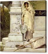 Roman Fisher Girl Canvas Print