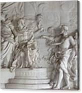 Roman Frieze Canvas Print