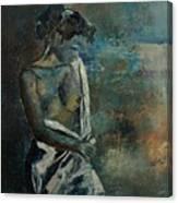 Roman Nude 45 Canvas Print