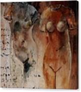 Roman Nudes 45 Canvas Print