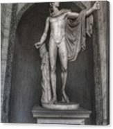 Roman Statue Canvas Print