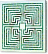 Roman - The Green Path Canvas Print