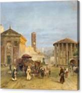 Roman Veduta Canvas Print