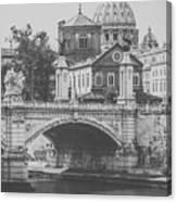 Roman Vintage Views Canvas Print