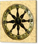 Roman Wheel Canvas Print