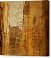 Romance In Stone Canvas Print