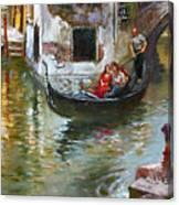 Romance in Venice 2 Canvas Print